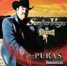 FREE US SHIP. on ANY 2 CDs! NEW CD Sergio Vega: Puras Romanticas