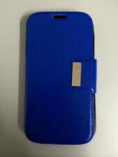 Funda Flip HTC ONE 2 M8 nuevo tipo libro con cierre iman AZUL+PROTECTOR GRATIS