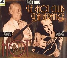 The Hot Jazz: Le Hot Club De France, Vols. 1-4 by Django Reinhardt (CD)