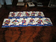 2014 NRL TRADERS NEWCASTLE KNIGHTS COMMON TEAM SET 11 CARDS GIDLEY BOYD SCOTT