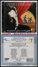 """DENIS LEVAILLANT """"Musiques Pour Le Théâtre"""" (CD) 1990 NEUF"""