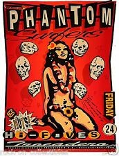 Phantom Surfers 1997 Rare Silkscreen Poster Signed / Numbered