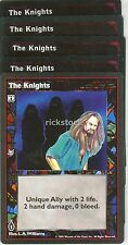 The Knights x5 Jyhad Vtes Lot A