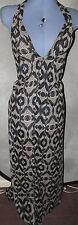 Polyester Midi Geometric Dresses for Women