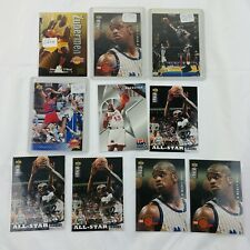 10 Shaq O'Neal Trading Cards Basketball Los Angeles Lakers - Lot #02