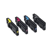 Set of 4 Compatible Toner Cartridge For Dell C2660dn C2665dn C2665dnf