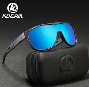 KDEAM Men Polarized Sunglasses Sport Outdoor Driving Riding Fahsion Glasses New
