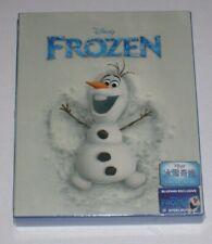Frozen Blufans Olaf Blu Ray Steelbook New Sealed Full Slip Exclusive Disney
