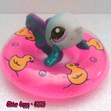 LPS Glitter guppy #2129 & Accessories. Summer Fun With LPS Guppy #LPS2129