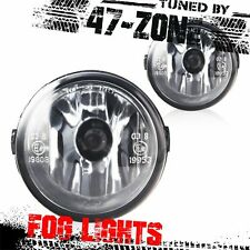 Clear Lens Fog Light Lamp Pair For G37 EX35 FX35 FX45 FX50 Quest Cube Juke Versa