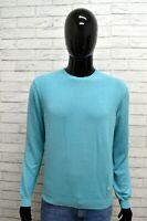 Maglione Pullover Uomo LIU JO Taglia Size L Sweatshirt Man Cardigan