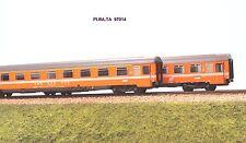 PI.RA.TA 97014 set carrozze EUROFIMA  IC Rossini  Bpm 2 SBB-CFF  + Bpm  FS