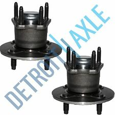 Both (2) REAR Complete Wheel Hub and Bearing Assembly Chevy Cobalt NO-ABS 4-Lug