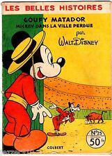 LES BELLES HISTOIRES n°25 ¤ DONALD/MICKEY ¤ 1956 COLBERT