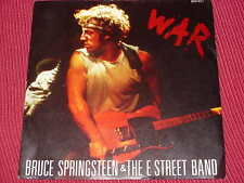 "Bruce Springsteen:  War    UK  NM   7"""