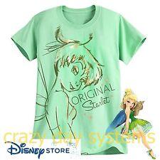 Disney Store Tinkerbell Tee T Shirt Organic Cotton Tinker Bell  Sz 2XL NEW Women