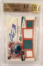 RYAN TANNEHILL RC AUTO TOPPS PRIME LEVEL V 4 PATCH /250 Graded BGS 9.5/10