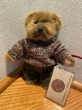 """6-1/2"""" Russ Berrie Vintage Collection """"Jeremy"""" Bear Mint with Tags"""