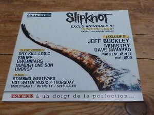 Various – ROCK SOUND - SLIPKNOT  !!!!!!!!!!! !!! RARE CD FRANCE