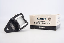 Vintage Canon Slide Duplicator 55 for FL Bellows in Original Box V19