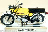 Jawa Mustang Moto Amarillo Rda 1:24 Atlas 7168119 Nuevo Emb. Orig. LA2 Μ