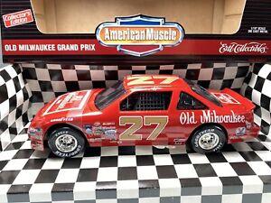 Ertl 1:18 NASCAR Tim Richmond #27 Old Milwaukee Beer 1983 Pontiac Grand Prix