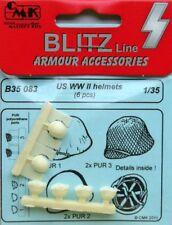 CMK 1/35 US WWII Helmets x 6 # B35083