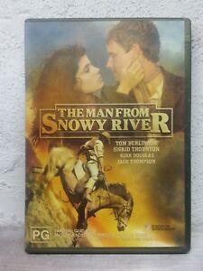 The Man From Snowy River DVD KIRK DOUGLAS Tom Burlinson 1982 Australian Movie