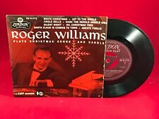 "ROGER WILLIAMS Plays Christmas Songs And Carols 1958 UK 7"" vinyl EP LONDON EXCEL"