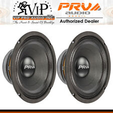 "PRV Audio 8MB450 8"" Pro Audio Midbass Woofer 8Ohm 225W Car Audio MidRange (PAIR)"