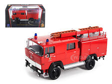 1965 MAGIRUS DEUTZ 100 D 7FA LF8-TS FIRE ENGINE 1/43 MODEL ROAD SIGNATURE 43017