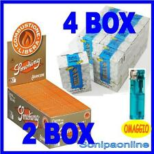 6000 FILTRI RIZLA SLIM 6mm + 6000 CARTINE SMOKING ARANCIONI CORTE