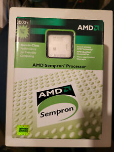 AMD Sempron 3000+ 1800MHz 128KB Cache Socket 754 CPU SDA3000AI02BA