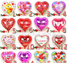 100Pcs Valentine's day balloon Birthday Party Decoration Supplies Foil Balloon