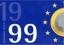 Pays-bas KMS 1999 (FDC) Florins - Lancement de Euro