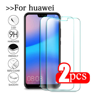 For Huawei MATE HONOR 20 P20 P30 Pro Lite Y6 Y7 Tempered Glass Screen Protector