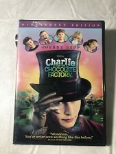 Charlie and the Chocolate Factory (Dvd, 2005, Widescreen)- Brand New!