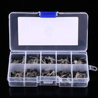 10Values x20 200pcs NPN PNP Power Transistor Assortment Kit Box BC337 BC547 etc