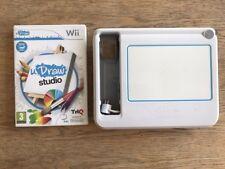 Tableta UDraw & Udraw Studio-Nintendo Wii-Usado