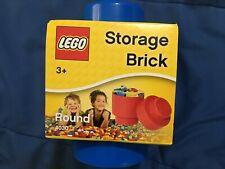 Lego Round Storage Brick (BLUE) *NEW*