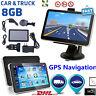 "7"" Zoll PKW Auto GPS Navi Navigationsgerät Navigation Europa Karten poi MP3 8GB"