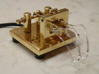 CT 73 MB-L  Iambic Magnet Tension Brass Lever Paddle. Travelling, QRP. New&B'd