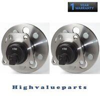 2 Rear Wheel Bearing & Hub Assembly for Pontiac Sunfire Chery Cavalier 512001