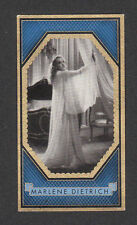 Marlene Dietrich Movie Film Star Vintage Cigarette Card #283