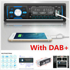 M4 Car 1 DIN DAB Digital Stereo Radio MP3 Player USB SD AUX Audio 12V Bluetooth