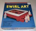 Vintage 1980 Nasta Swirl Art Spinning Turntable Splatter Paint - SEALED.