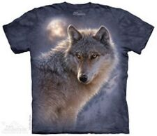 #10-4013 ADULTS 2X-LARGE MEN/WOMEN ADVENTURE WOLF MOUNTAIN BRAND T-SHIRT