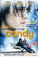 CANDY Movie POSTER 27x40 UK Abbie Cornish Heath Ledger Geoffrey Rush Tom Budge