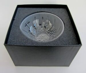 Lalique SMALL Ombelles Ombelle HOLLOW Crystal Bowl France NEW