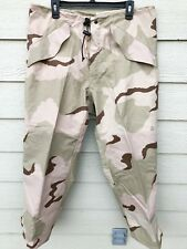 NEW USGI ECWCS GORE-TEX COLD WEATHER DESERT CAMOUFLAGE PANTS - MEDIUM SHORT.